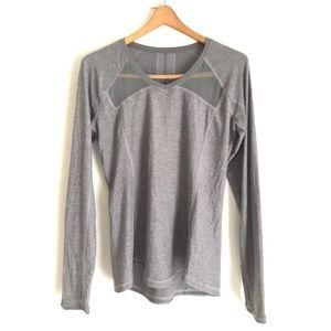 Lululemon x SoulCycle Grey Long Sleeve Top